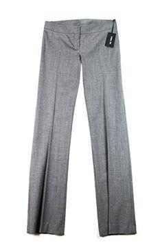 Patrizia Pepe Womens Dress Pants Size 32 US  46 EU Regular Grey Virgin Wool