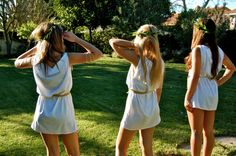 With the #Toga #Dance coming up this Friday (Sept 13), take some time to learn how to make the #perfect toga! Click through for video!