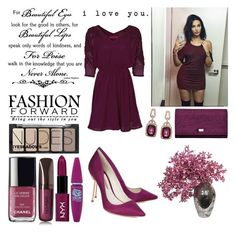 """""""Natalie Halcro ♥"""" by laceyjenner ❤ liked on Polyvore featuring beauty, Chanel, Hourglass Cosmetics, Sophia Webster, LDF Silk, Coccinelle, Effy Jewelry and H&M"""