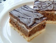 Myslíme si, že by sa vám mohli páčiť tieto piny - sbel Slovak Recipes, Czech Recipes, Baking Recipes, Cookie Recipes, Dessert Recipes, Sweet Desserts, Sweet Recipes, Kolaci I Torte, English Food
