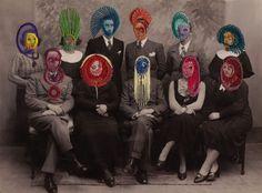 wonderfully bizarre embroideries by Maurizio Anzeri