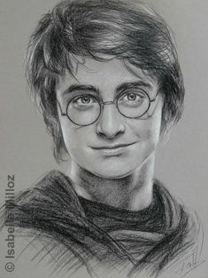 Drawing Portraits - Portrait de Daniel Radcliffe, alias Harry Potter Discover The Secrets Of Drawing Realistic Pencil Portraits.Let Me Show You How You Too Can Draw Realistic Pencil Portraits With My Truly Step-by-Step Guide. Harry Potter Fan Art, Harry Potter Kunst, Harry Potter Portraits, Harry Potter Sketch, Harry Potter Drawings, Harry Potter Tumblr, Harry Potter Characters, Harry Potter Images, Art Drawings Sketches