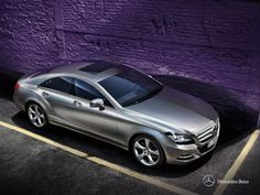 Mercedes-Benz CLS.  Experience the essence of relaxed driving.