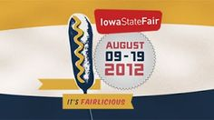 Iowa State Fair food competitions in Elwell Building...'nothing compares'!