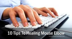 Do you have Mouse Elbow?… Pain in your elbow, wrist or hand – due to your laptop, tablet or phone use? – Use these ten Ergonomic, muscle health and self-help treatment tactics to break your computer-related pain and injury cycle! - https://tenniselbowclassroom.com/tennis-elbow-treatments/10-tips-to-heal-mouse-elbow/ - #TennisElbow
