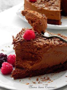 шоколадный мусс торт (40)