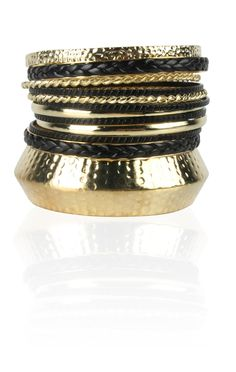 #bracelet with textured #bangles  $10.50