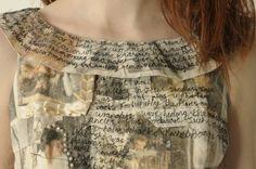 Alice-In-Wonderland-Ideas - Narrative dress