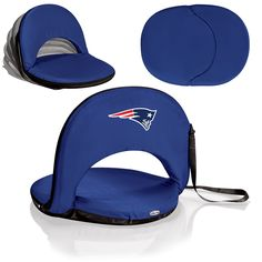 New England Patriots Stadium Seat / Beach Chair / Gaming Chair - Oniva Seat by Picnic Time
