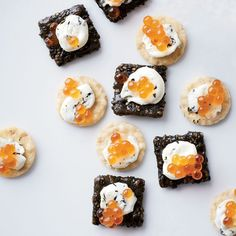 Here, our best recipes for refined (but still super-snackable) Oscar party finger foods.