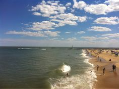 It's always a perfect day at the beach in Ocean City!