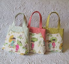 sew quilted bags