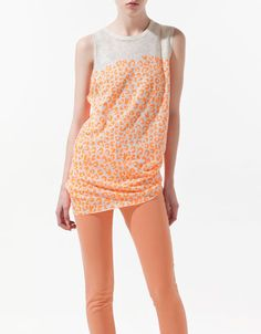 Spring Coral color. Zara.