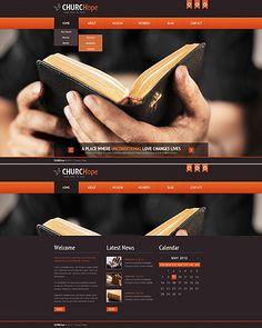 Religious Website Template #church http://www.templatemonster.com/website-templates/44538.html?utm_source=pinterest&utm_medium=timeline&utm_campaign=chu
