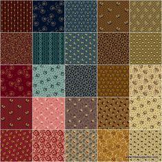 """Judie's Album Quilt 2.5"""" Strips - Judie Rothermel - Marcus Fabrics"""