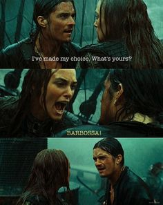 Pirates of the Caribbean: At World's End...Will's face! lol Mine too honey! Or Jack!!!!