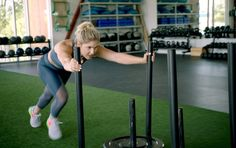 Gym Workout Personal trainer Sydney Torabi takes us through an EMOM (Every Minute on the Minute) workout. The post Welcome to My … Gym Workout appeared first on Under. My Fitness Pal, Heath And Fitness, Fitness Tips, Health Fitness, Fitness Gear, Fitness Motivation, Trainer Fitness, Social Benefits Of Exercise, Exercise And Mental Health