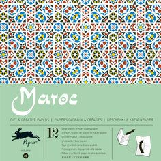 Morocco Wrapping Paper, $14, now featured on Fab.