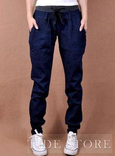 Pretty Korean Style Loose Jean
