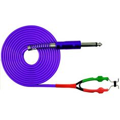 ITATOO 98 Inches Silicone Soft Tattoo Clip Cord for Tattooing Purple Clip Cord *** Visit the image link more details. Note:It is Affiliate Link to Amazon.