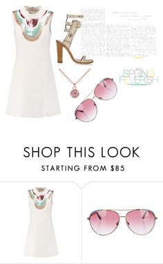 """Untitled #1324"" by katnat76 ❤ liked on Polyvore featuring Giambattista Valli, Isabel Marant, Minnie Rose, Ted Baker, BCBGMAXAZRIA and FEVERISH"