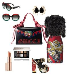 either other by beca-skopal on Polyvore featuring polyvore, fashion, style, Alexander McQueen, Dsquared2, FAUSTO PUGLISI, Gucci, Bounkit, Givenchy, Estée Lauder, clothing, fabulous, women, BeautyandtheBeast, fashionset and belady