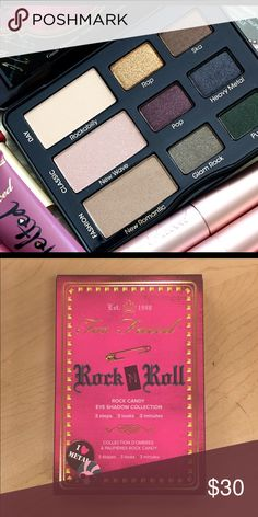 Too faced eye shadow pallete Brand New never been used Too Faced Makeup Eyeshadow