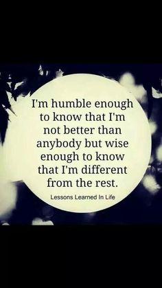 Self worth.