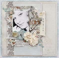 Here is a layout for a the current challenge I posted at Once Upon A..Sketch http://onceuponasketchblog.blogspot.com/ where I ask you to scrap a layout about one thing you are good at.