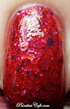 KBShimmer Winter 2012 Berry Christmas| Pointless Cafe