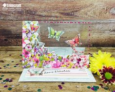 This is our most talked about card on the forum so we have remade it to show you how easy it is to make using the Dovecraft Bohemian collection…
