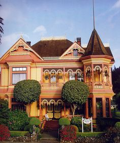 Gingerbread Mansion in Ferndale, CA...
