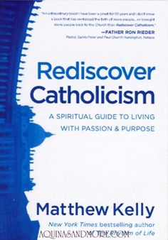 Rediscover Catholocism by Matthew Kelly is a great book to learn more about your faith & rediscover what being Catholic means.