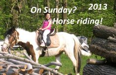 Horseback riding at Lake Maggiore, Mottarone – 2013... Not only for children, everybody can ride a horse at Mottarone's slopes!