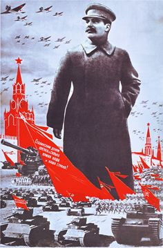 """Russian WW2 """"Stalin'n' spirit inspire and defend our Army and Motherland!"""" 1939"""