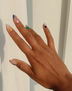 Simple Acrylic Nails, Best Acrylic Nails, Acrylic Nail Designs, Simple Nails, Halloween Acrylic Nails, Nagellack Design, Oval Nails, Funky Nails, Fire Nails