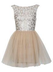 Petites Lace Tutu Dress
