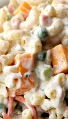 Creamy Ranch Pasta Salad