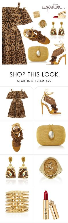 """Inspiration of the Day"" by dressedbyrose ❤ liked on Polyvore featuring Dolce&Gabbana, Louis Leeman, Kayu, NSR Nina Runsdorf, Retrouvai and Nancy Newberg"