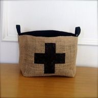 X-Large Coffee Sack Basket by Brin and Nohl