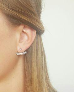 Boucles d'oreilles Julia en argent 925 à retrouvez sur le site www.asoabijoux.com. Existe également en plaqué or. Vous aimez?