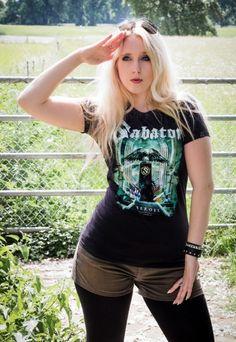3aaf5c3d5e642 Das Sabaton Girlie Shirt  Heroes
