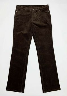 f16efaf5912750 Rifle pantalone donna usato velluto gamba dritta W34 tg 48 stretch marrone  T5369 #RIFLE #pantalones #pantaloni #abbigliamento #abbigliamentodonna # velluto ...