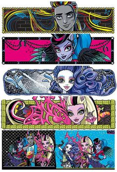 New Monster High Freaky Fusion 2014 movie dolls