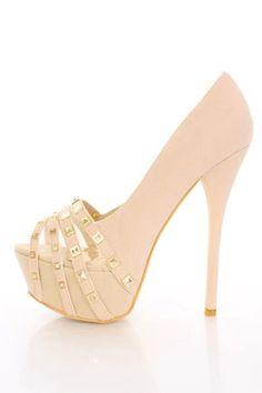 Nude heels x