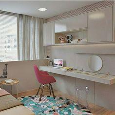 In love por esse quarto de menina . Projeto CLS Arquitetura