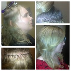 Simple Additions... Hair extensions using braidless process