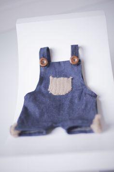 PROPS | Stephanie Resch Photography  Denim Overalls (2 sets): Newborn - 3 months & 6 months - 1 year Denim Overalls, 2 Set, Photography Props, 3 Months, 1 Year, Baby, Photo Accessories, Baby Humor, Infant