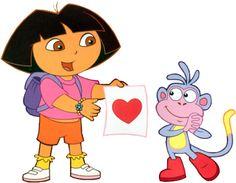 Valentine Clip Art Dora