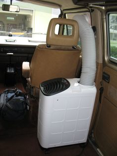 the samba forum  solution to minivan camping in the heat